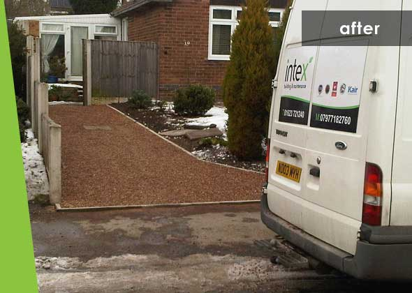 Intex projects - Driveway - after